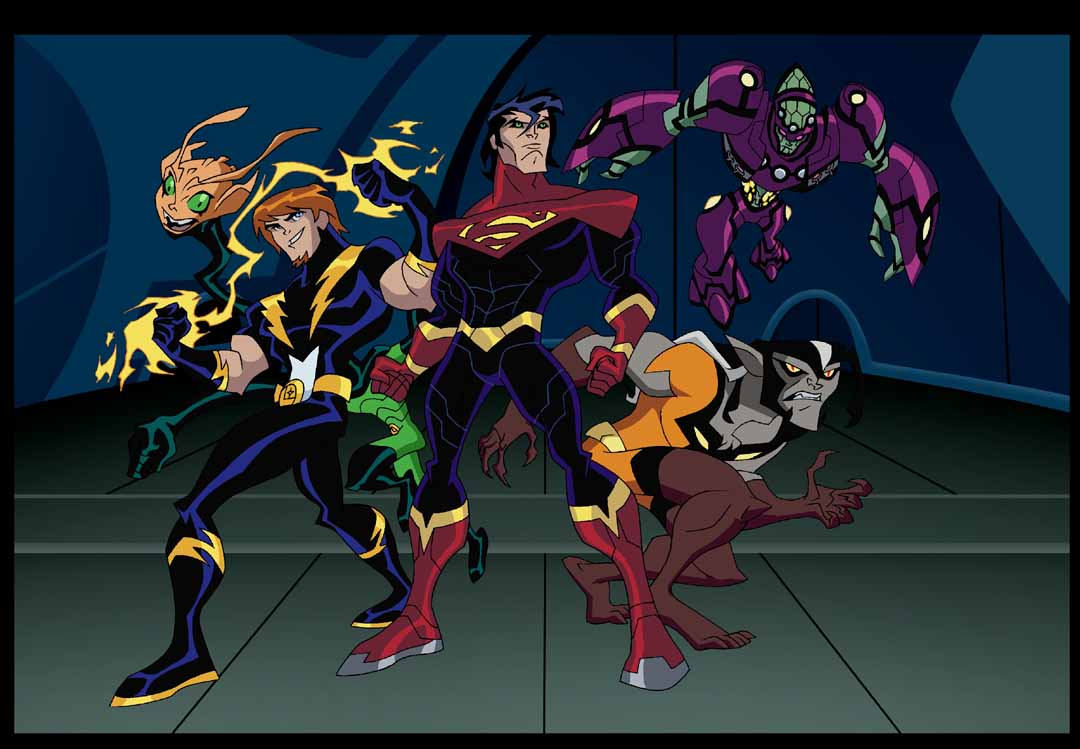 legion of superheroes      warner bros  animation    james